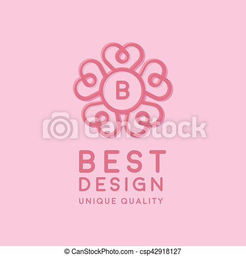 Herz B Zentrieren Form Brief Unter Logo Kreis Herz B Kunst