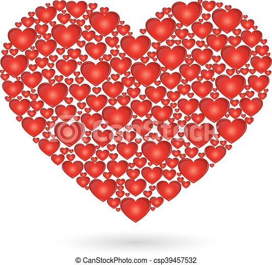 Herz aus herzen ein Aktion Herz