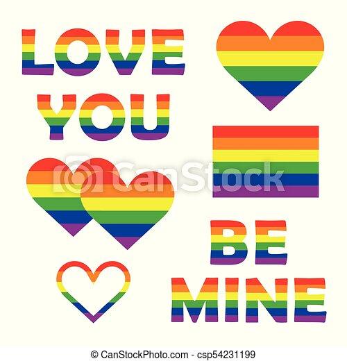 Regenbogen-Homosexualität