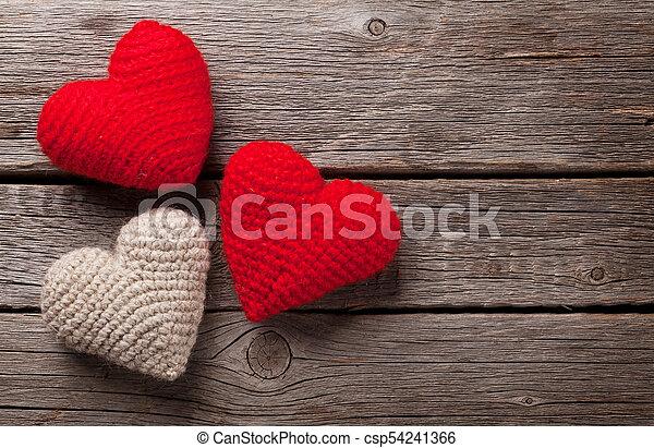 herzen, valentinestag - csp54241366