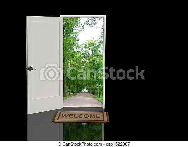 herzlich willkommen - csp1522007
