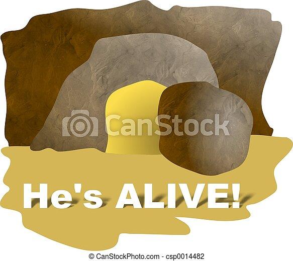 He's Alive - csp0014482