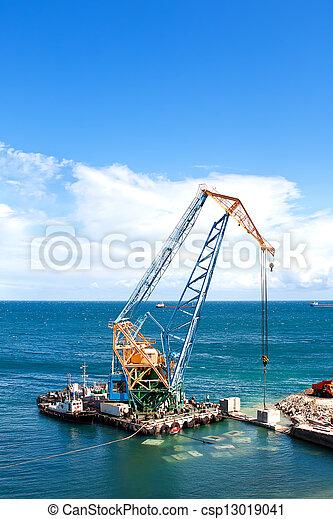 het bouwwerk, porto - csp13019041