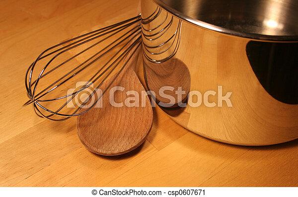 het koken, gereedschap - csp0607671