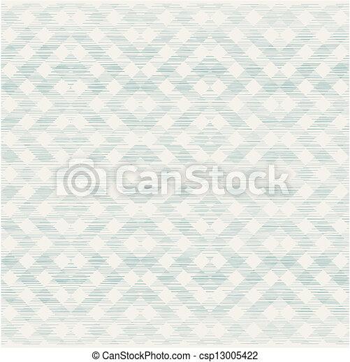 het patroon van de stof, seamless, textuur, retro, geometrisch - csp13005422