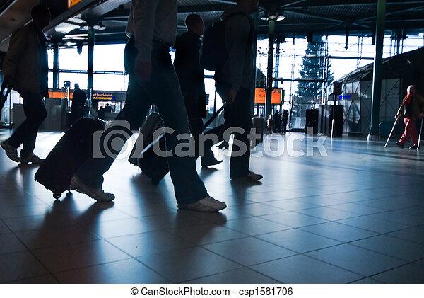 het reizen, mensen - csp1581706