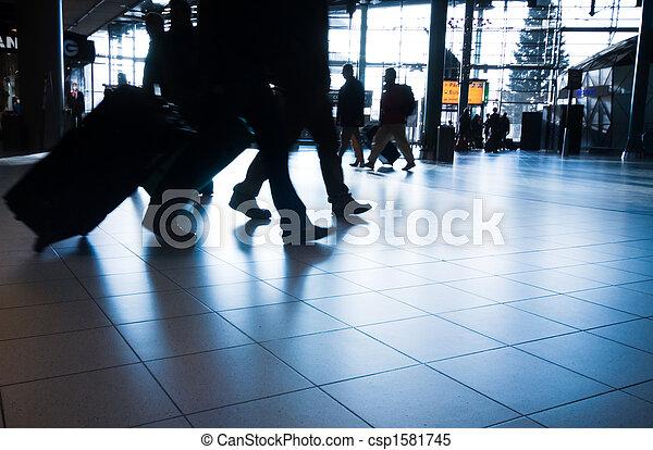 het reizen, mensen - csp1581745