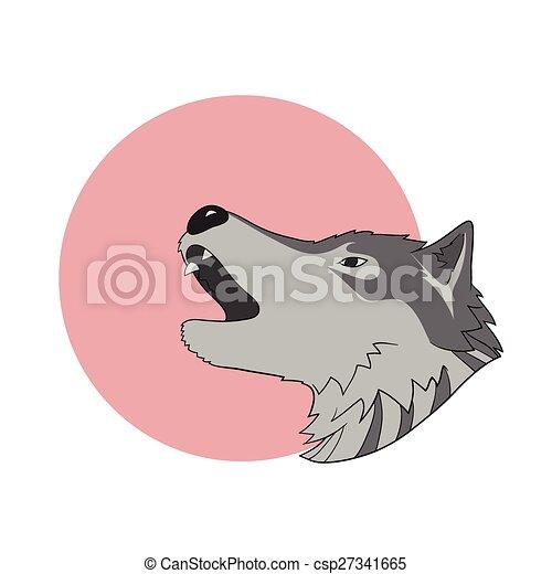 heulen, wolf - csp27341665