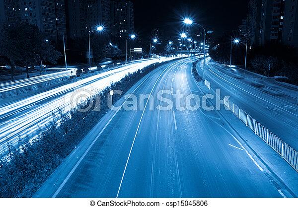 heure, trafic, jonc - csp15045806