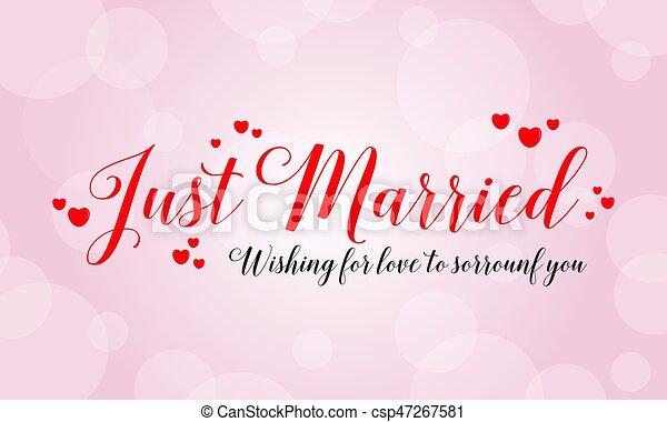 Heureux, Conception, Carte Voeux, Mariage