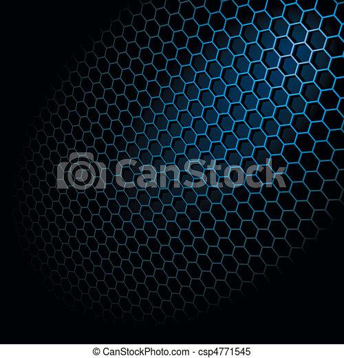 Rejilla de hexagon - csp4771545