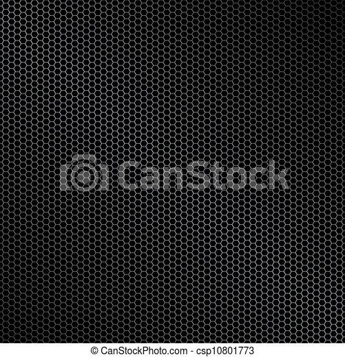 Hexagon metal background - csp10801773