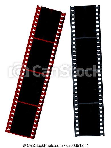 Hi-Res Film Negatives - csp0391247