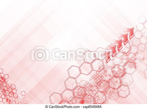 Hi-tech abstract backdrop - csp6549484