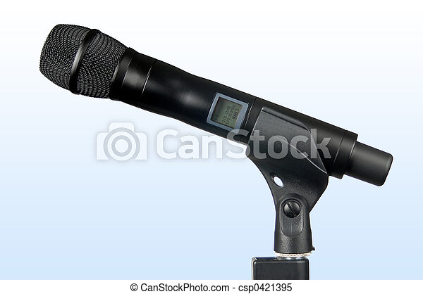 Hi-Tech Wireless Microphone - csp0421395