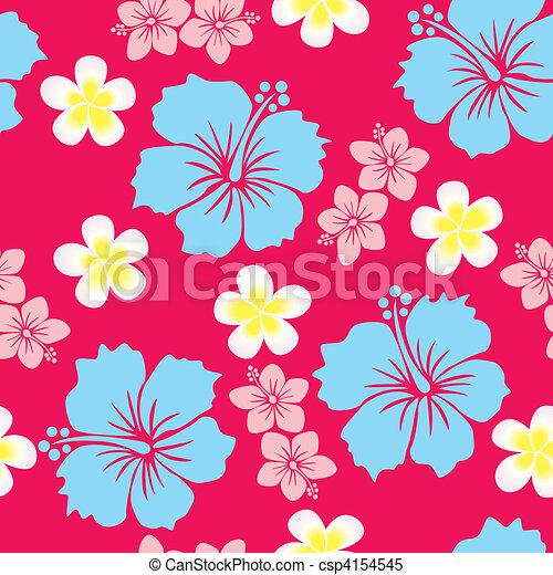 Hibiscus Background - csp4154545