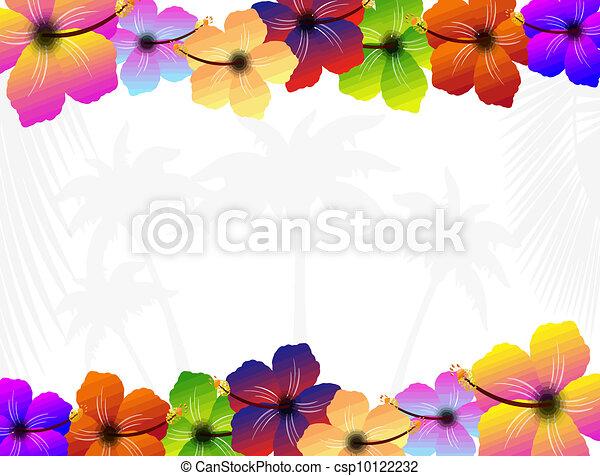Hibiscus flowers - csp10122232