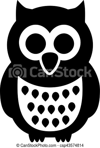 hibou noir dessin anim clipart vectoris recherchez illustrations dessins et images. Black Bedroom Furniture Sets. Home Design Ideas