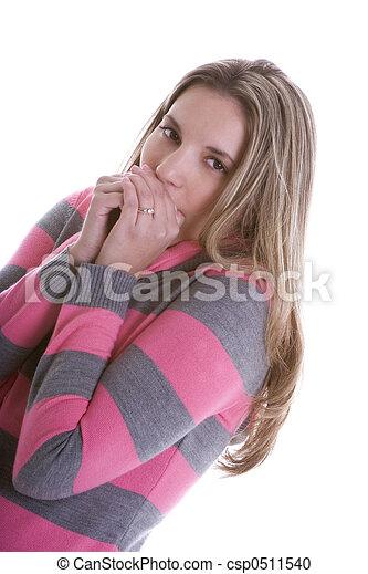 hideg, nő - csp0511540
