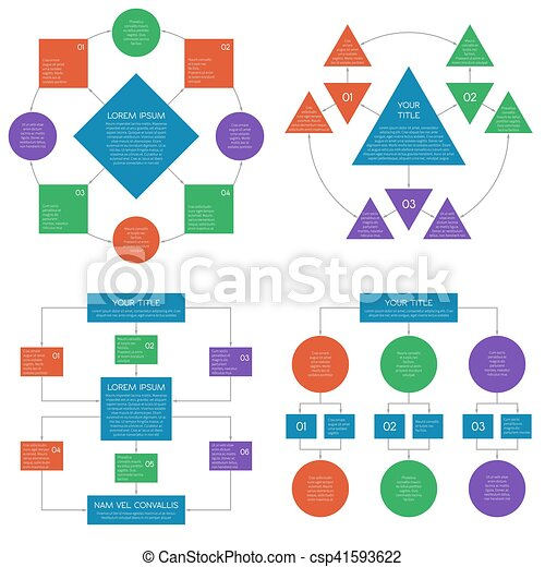 Hierarchy diagrams flowchart vector infographics set hierarchy diagrams flowchart vector infographics set ccuart Image collections