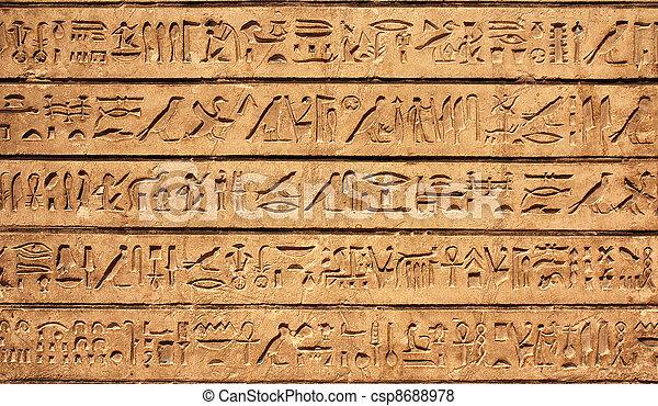 hieroglyphics - csp8688978