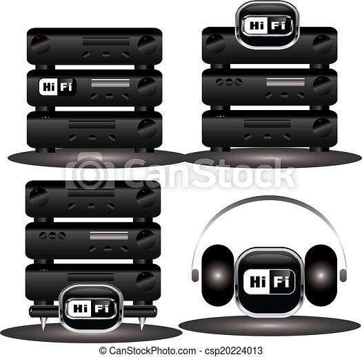 HiFi icons - csp20224013