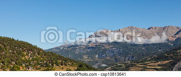 High Altitude Village - csp10813641