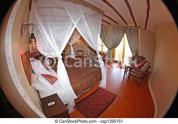 High Class Resort in Africa - csp1395151