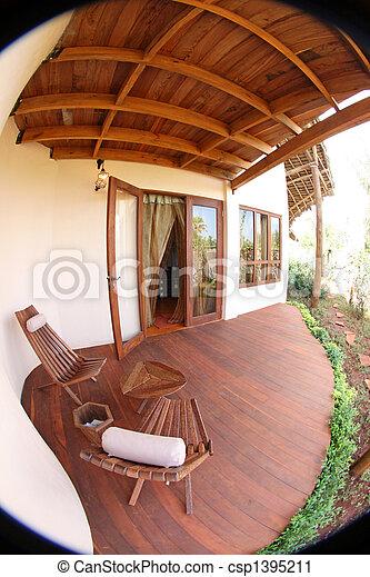 High Class Resort in Africa - csp1395211