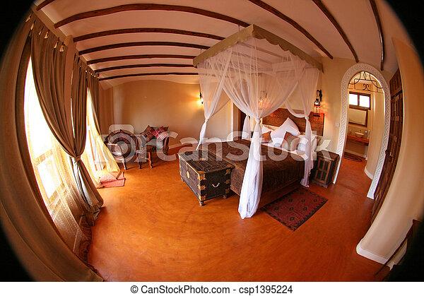 High Class Resort in Africa - csp1395224