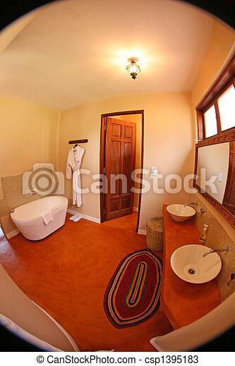 High Class Resort in Africa - csp1395183