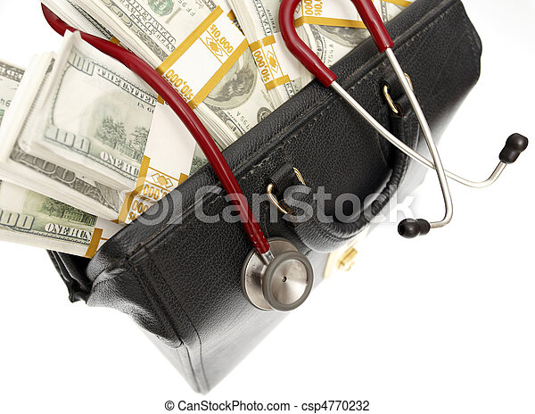 High cost of healthcare - csp4770232