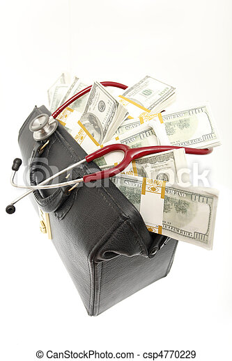 High cost of healthcare - csp4770229