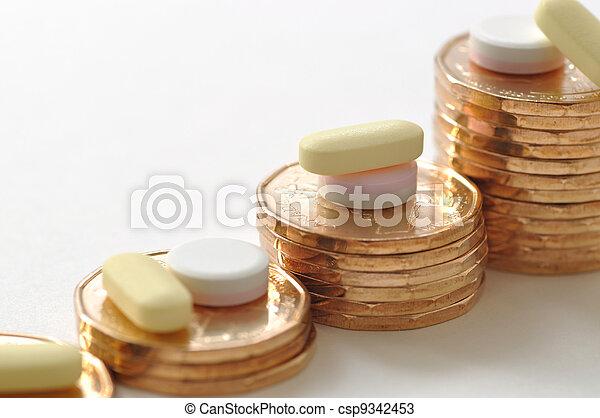 High Cost of Healthcare - csp9342453