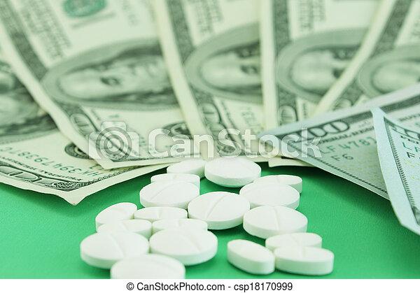 High cost of medicines - csp18170999
