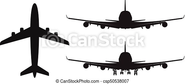 high detailed vector plane silhouette solid illustration vector rh canstockphoto com plane vector problem plane vector form