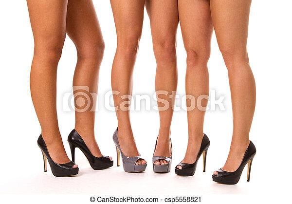 High Heeled Legs - csp5558821