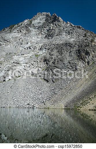 High mountain lake - csp15972850