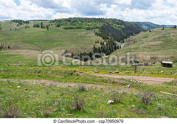 High mountain vista - csp70950979