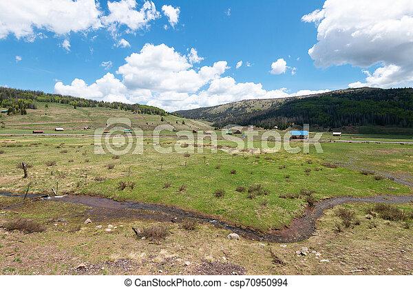 High mountain vista - csp70950994