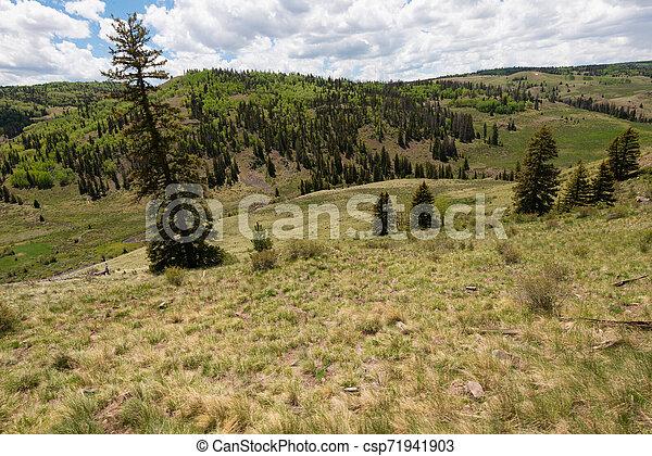 High mountain vista - csp71941903