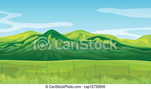 High mountains - csp12732600