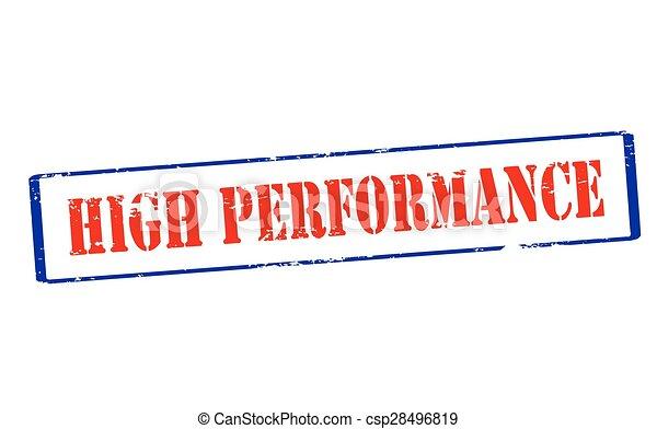 High performance - csp28496819