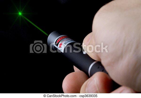 High power green laser - csp3639335