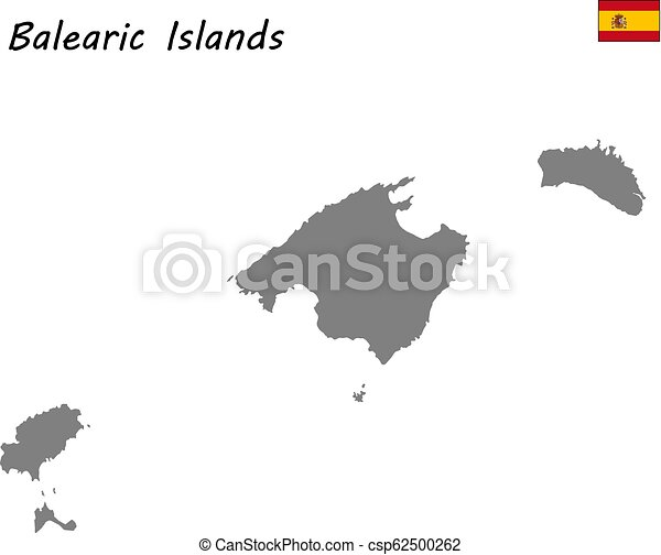 Map Of Spain Vector Free.High Quality Map Autonomous Community Of Spain