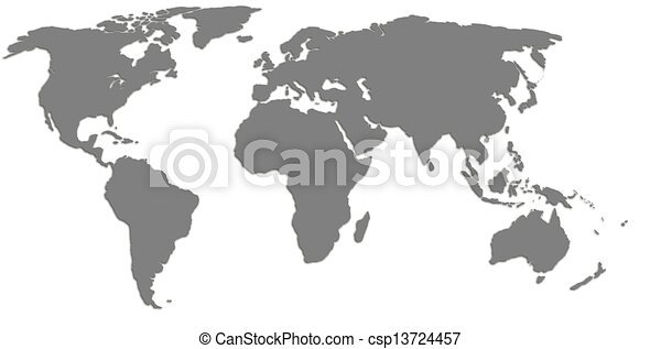 High quality world map stock illustrations search clipart high quality world map csp13724457 gumiabroncs Images