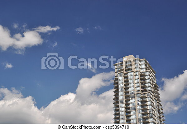 High rise building view - csp5394710