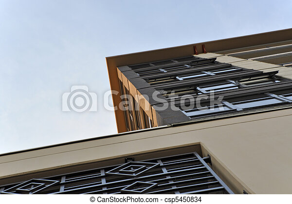 High rise building view - csp5450834