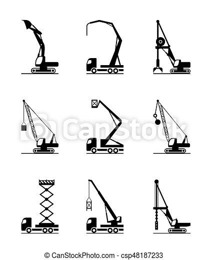 High-rise construction machinery - csp48187233