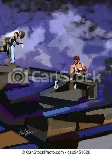 High Rise Work - csp3451626